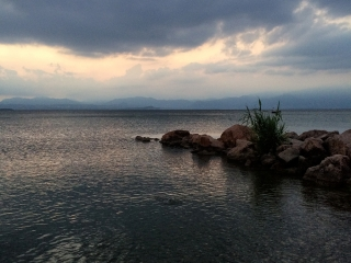 Jezioro Garda i Camping Lido Lazise