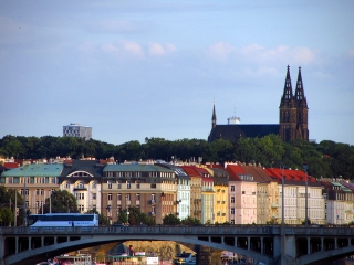 Praga,bazylika św. Piotra i Pawła na Wyszehradzie