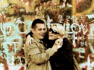 Praha, Lennonova zed', czyli Ściana Johna Lennona w Pradze