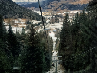 San Candido - gondola na Croda Rossa - narty z dziećmi w Dolomitach