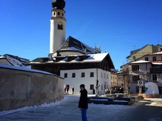 San Candido - narty z dziećmi w Dolomitach