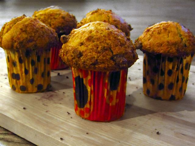 Muffiny z malinami - przepis