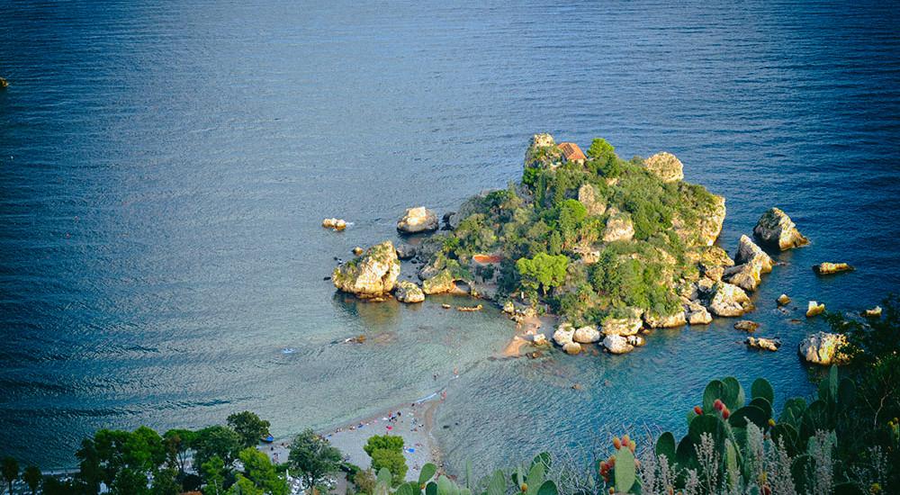 Isola Bella, Taormina, Sycylia - Podróże ze smakiem