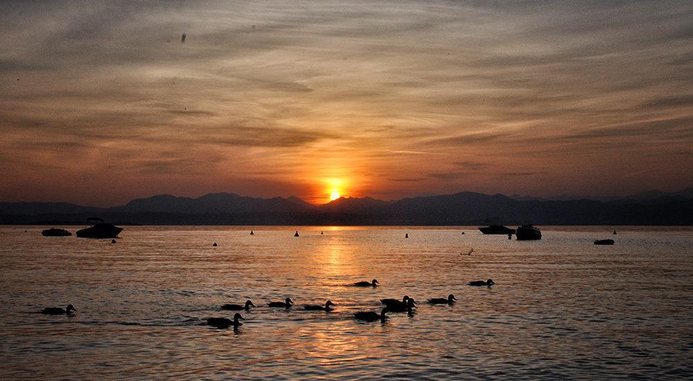 Jezioro Garda i Camping Lido w Lazise